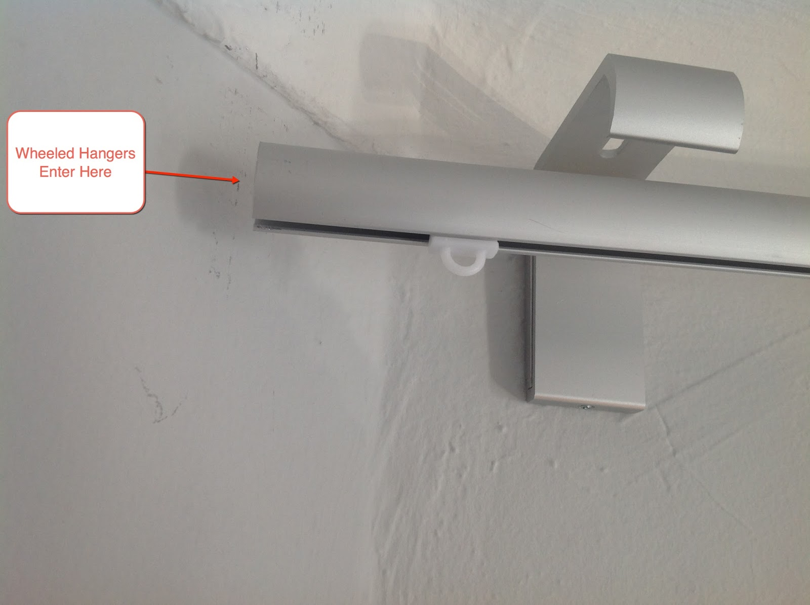 Superb Troubleshooting IKEA Kvartal Curtain Rods Install