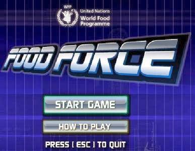Game Food Force: Simulasi Misi kemanusiaan PBB