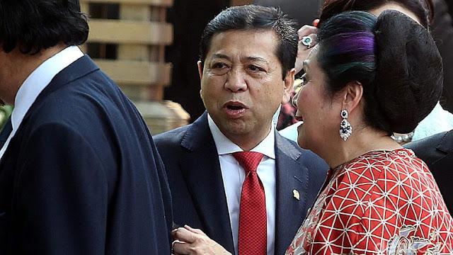 Novanto Tanggapi Sikap Jokowi yang Meminta Kasus Penyidikan Pimpinan KPK Dihentikan