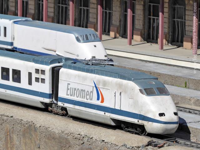 Euromed de ALSTOM Serie 100.1 Catalunya en Miniatura - Catalonia Miniature