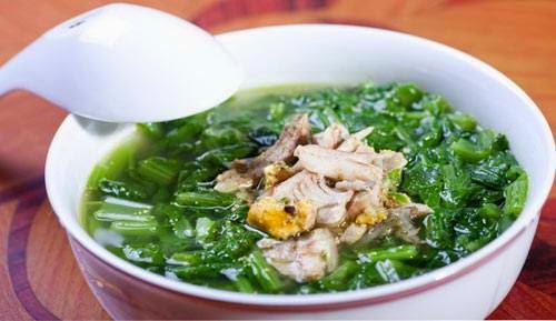 Bí quyết làm món Canh cá rô nấu rau cải ngon