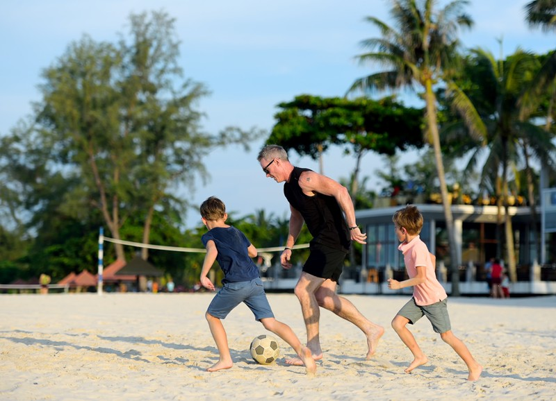 fathers day package at bintan lagoon resort beach