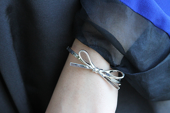 Silver Bow Kate Spade Bracelet | Will Bake for Shoes