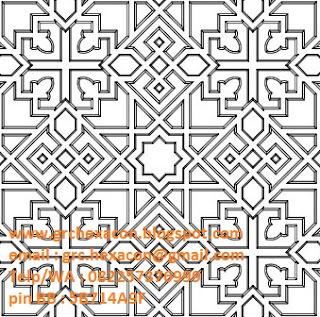 desain krawangan masjid Jakarta