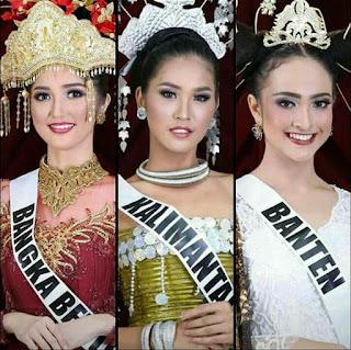 Ini 3 Besar Puteri Indonesia 2018