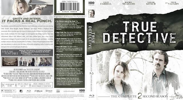 Capa Bluray True Detective Segunda Temporada Completa