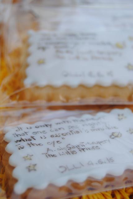biscotti bomboniera per un battesimo