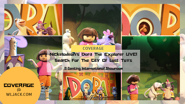 [Coverage] Nickelodeon's Dora The Explorer LIVE! Search For The City of Lost Toys
