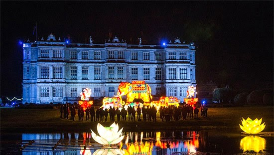 Longleat Lights event