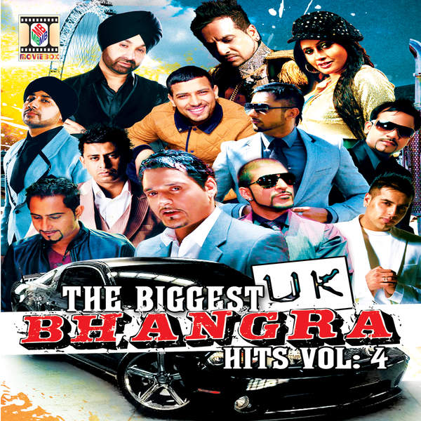 Various Artists - The Biggest UK Bhangra Hits, Vol. 4 Cover