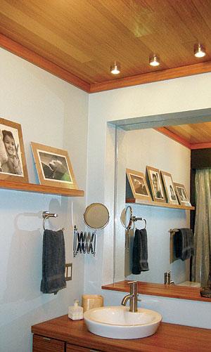 Art wall decor bamboo flooring bathroom wall green - Bamboo flooring in kitchen and bathroom ...