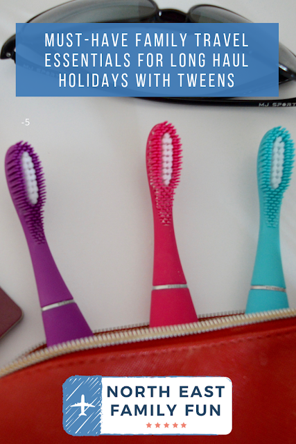 Must-have Family Travel Essentials for Long Haul Holidays with Tweens