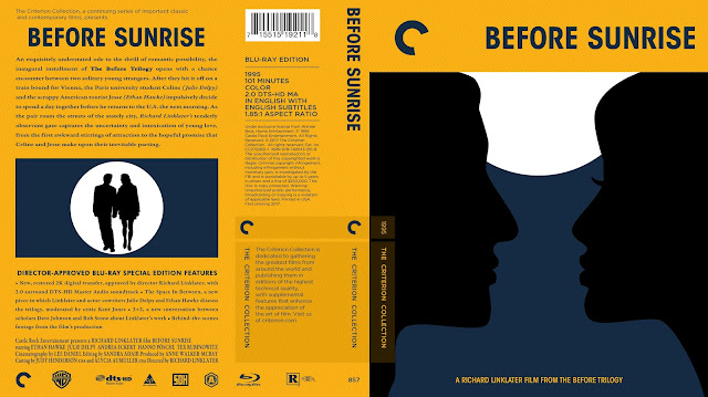 Before Sunrise Bluray Cover