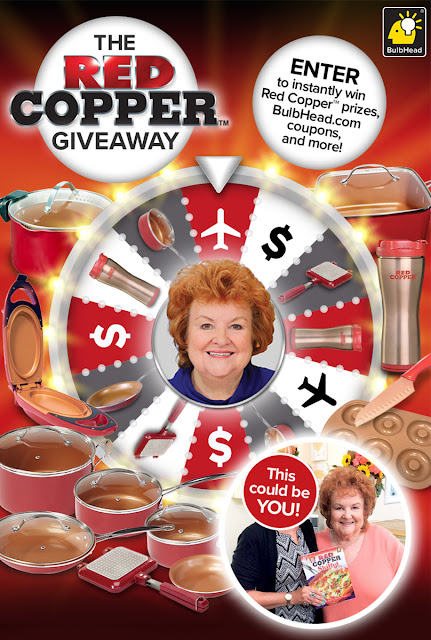 BulbHead RED COPPER INSTANT WIN & SWEEPSTAKES