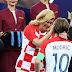 Dari Modric hingga Pogba Kebagian Peluk Mesra Presiden Kroasia