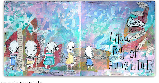 "A Ray of Sunshine"" rt journal Page for AALL & Create"