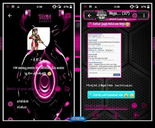 Droid Chat versi 7.10 Tron Evolution Series