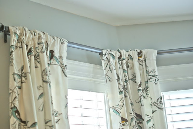 Cottage And Vine Tablecloths As Curtains