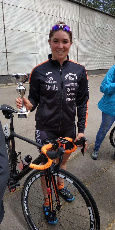 Éster Rubio consiguió la tercera plaza en la Matinal Ciclista de la Volta a Catalunya