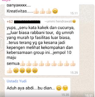 pengen umrah, wujudkan bersama rabbani tour, biro travel terbaik di Indonesia