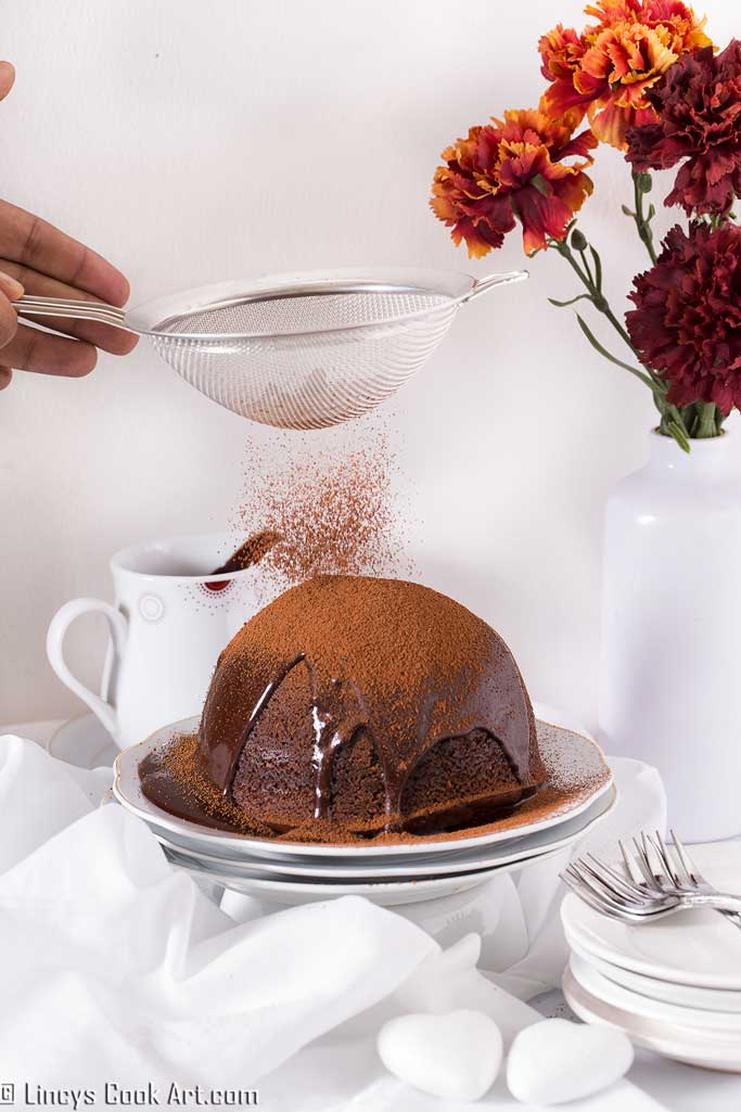 Easy steamed chocolate pudding recipe