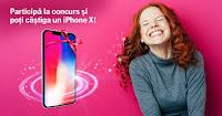 Castiga un iPhone X - Concursuri Online