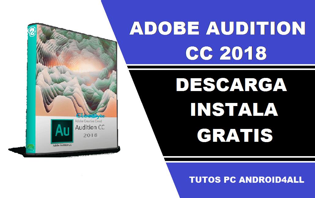 adobe audition cc 2017 descargar gratis