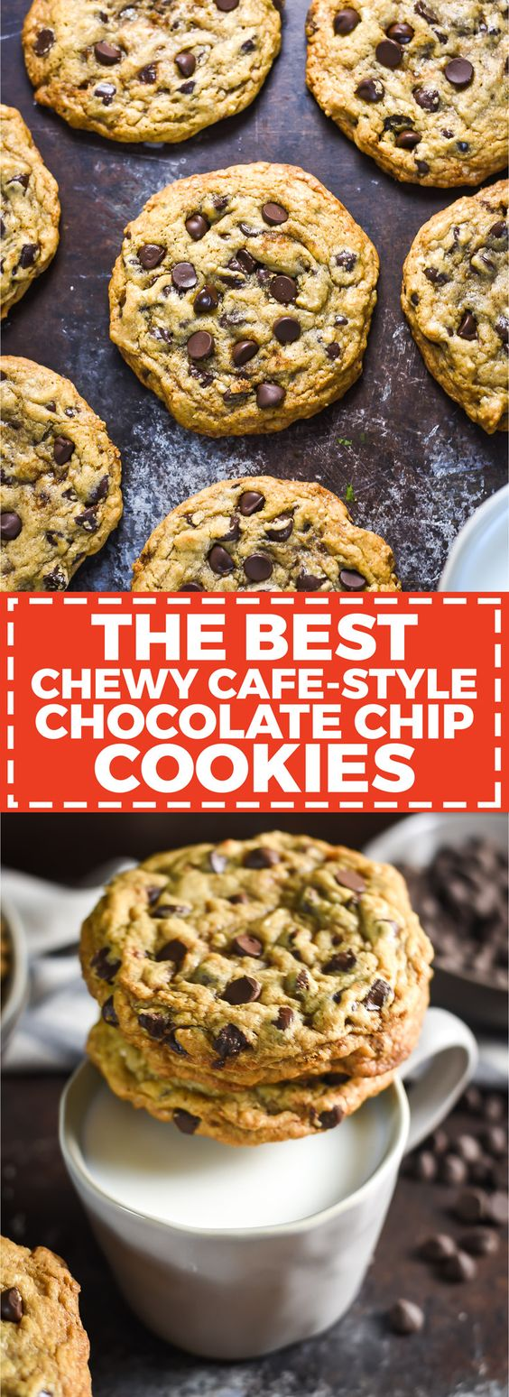 The Best Chewy Caf�-Style Chocolate Chip Cookies Recipe