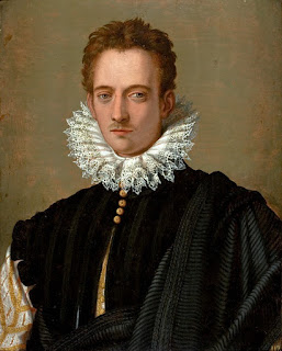 Alessandro Allori's portrait of what is thought to be Pietro de' Medici