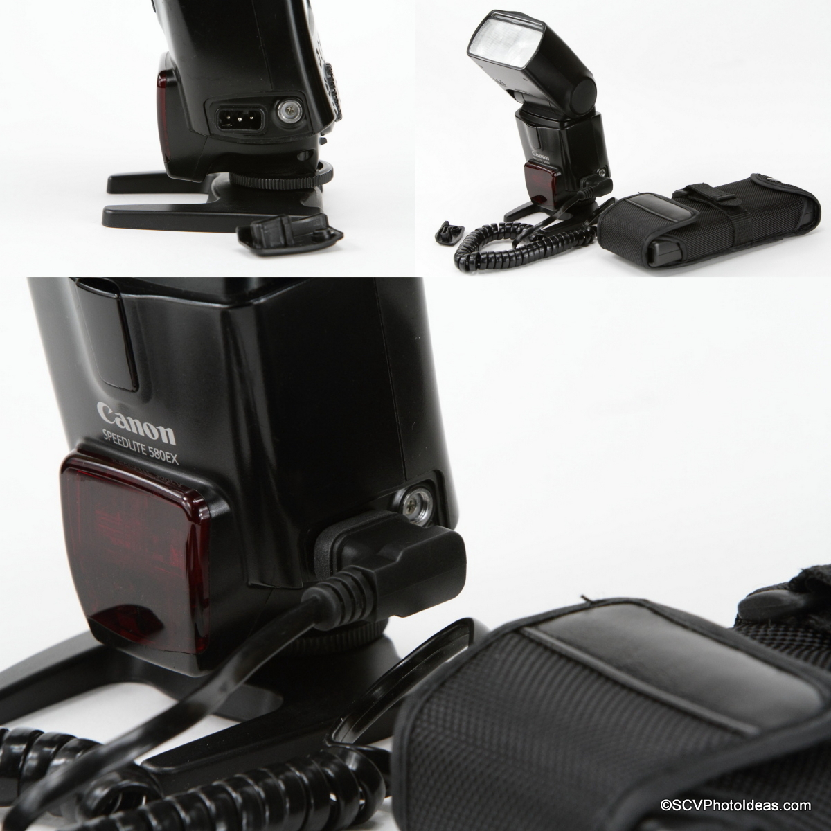 YongNuo SF-18 External Battery with Canon Speedlite 580EX