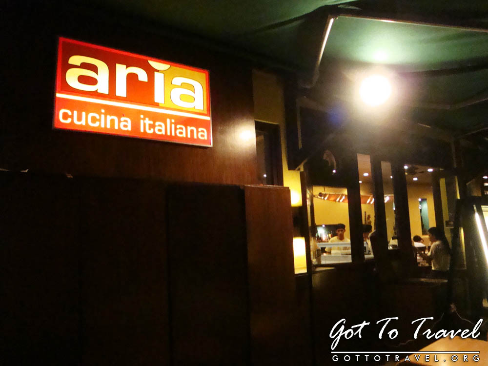 August 2011 got to travel for Cucina italiana