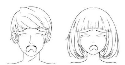 Personnages qui sont très tristes et qui pleurent