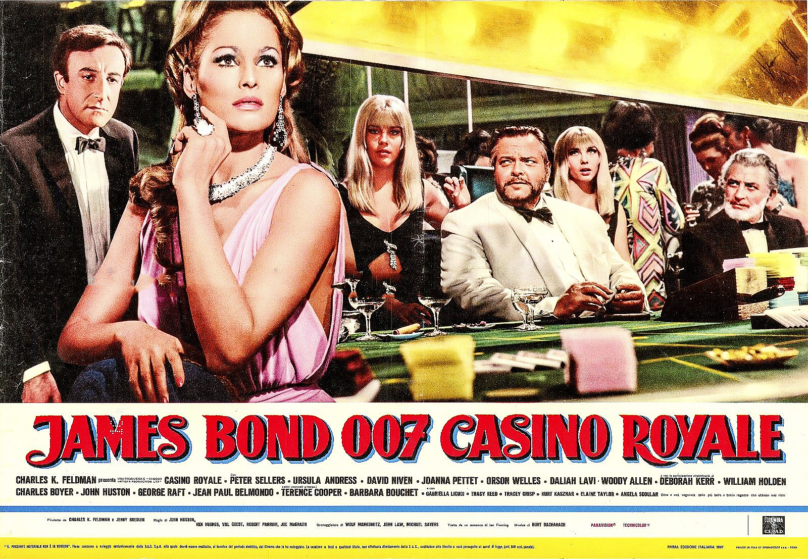 Casino royale 1967 movie wiki matelas dunlopillo grand casino 180x200