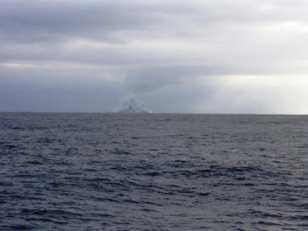 New Island Emerges From Underwater Volcano