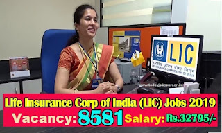 LIC8581 ADO-Recruitment 2019 Any Degree Graduate Apply Online