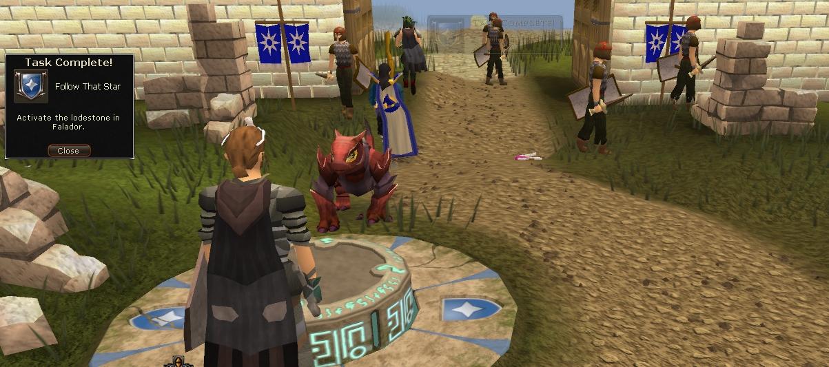 Crewman6's Runescape Adventure Log: Runescape: City to City