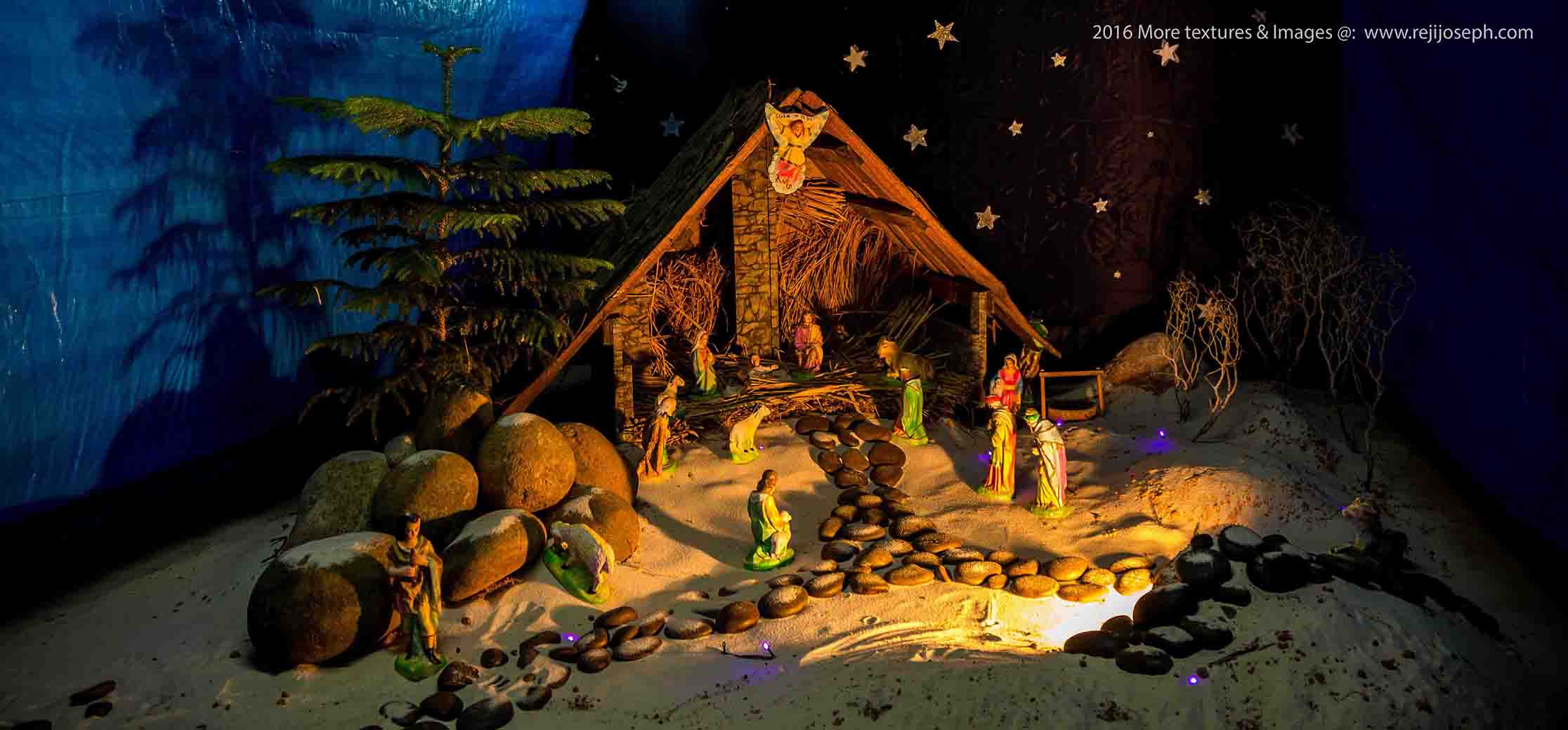 Christmas crib Pulkoodu St. George Forane Church Edappally 00009