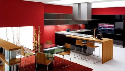 Salas y comedores juntos: ideas de decoración salas con cocina y ...