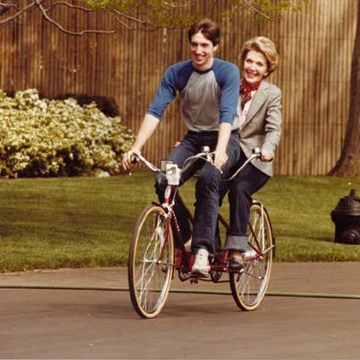 nancy reagan bikes GT FASHION DIARY
