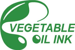 植物油インキで印刷したことを示す「植物油インキマーク」の画像