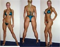 Female Fitness calves