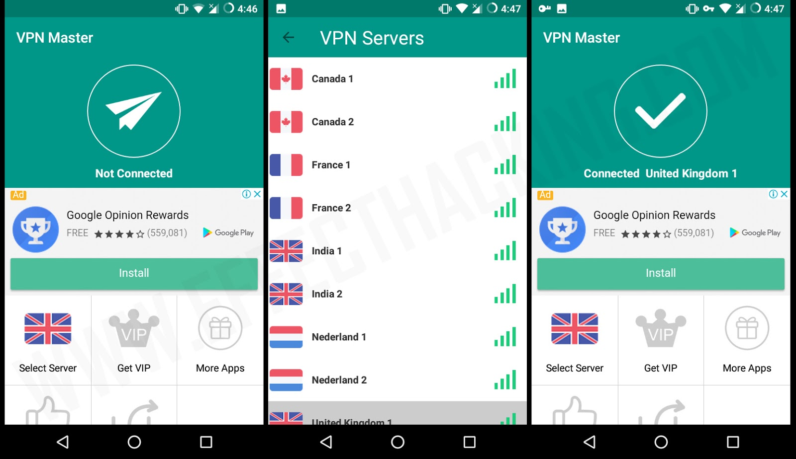 GO VPN Free unlimited proxy Screenshots