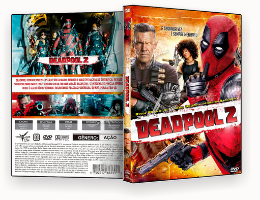 DVD – Deadpool 2 – ISO – CINEMA