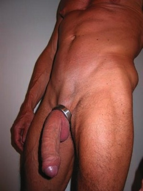 Cockring shemale pierced