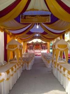 jual dekorasi tenda pesta