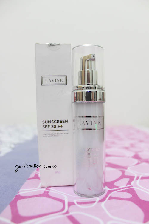 Lavine Cosmetics review by Jessica Alicia