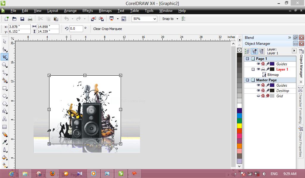 Mudah Dengan Corel Draw Cara Memotong Gambar Di Coreldraw Crop