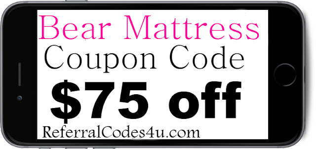 Bear Mattress Coupon Code, Discount and Promo Code 2018 July, August, Sep, Oct, Nov, Dec