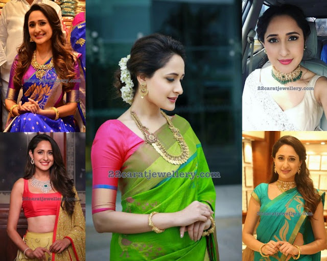 Pragya Jaiswal Latest Jewellery Designs