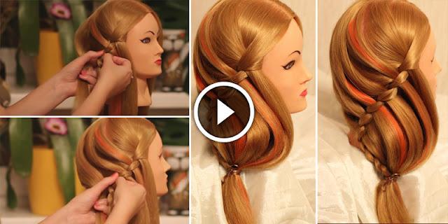 Hair DIY - How To Create Seahorse Hairstyle
